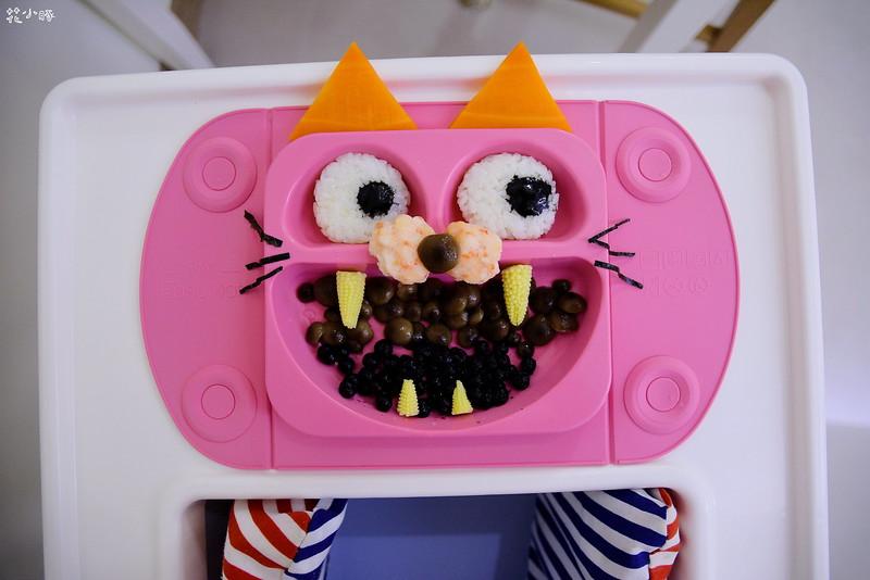 easymat餐盤防拔嬰兒餐具吸盤嬰兒餐具推薦嬰兒副食品餐具推薦EasyMat防滑矽膠餐盤 (19)