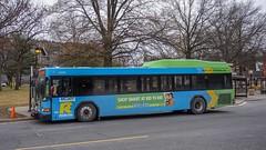 Montgomery County Transit Ride On 2011 Gillig Low Floor Advantage Hybrid #5349