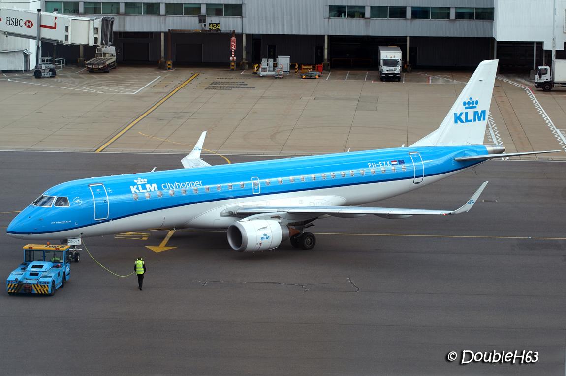 PH-EZK E190 KLM LHR