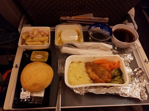 機内食は美味