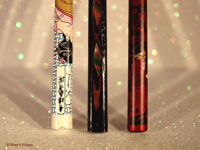 Stick: Japanese chopsticks - Japanische Eßstäbchen