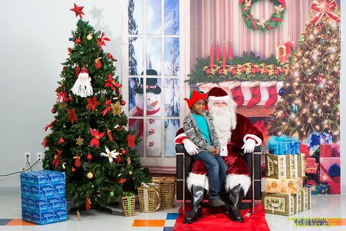 Santa at Teecs-16