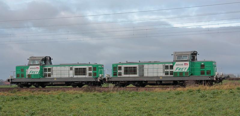 Alstom 66446 - BB 469446 + Alstom 66426 - BB 469426 / Wallon-Cappel