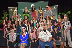 """CTAHR candidates who participated in convocation on December 8..  View more photos at CTAHR's Flickr site: <a href=""""https://www.flickr.com/photos/ctahr/sets/72157690935002195/with/27241438299/"""">www.flickr.com/photos/ctahr/sets/72157690935002195/with/2...</a>"""