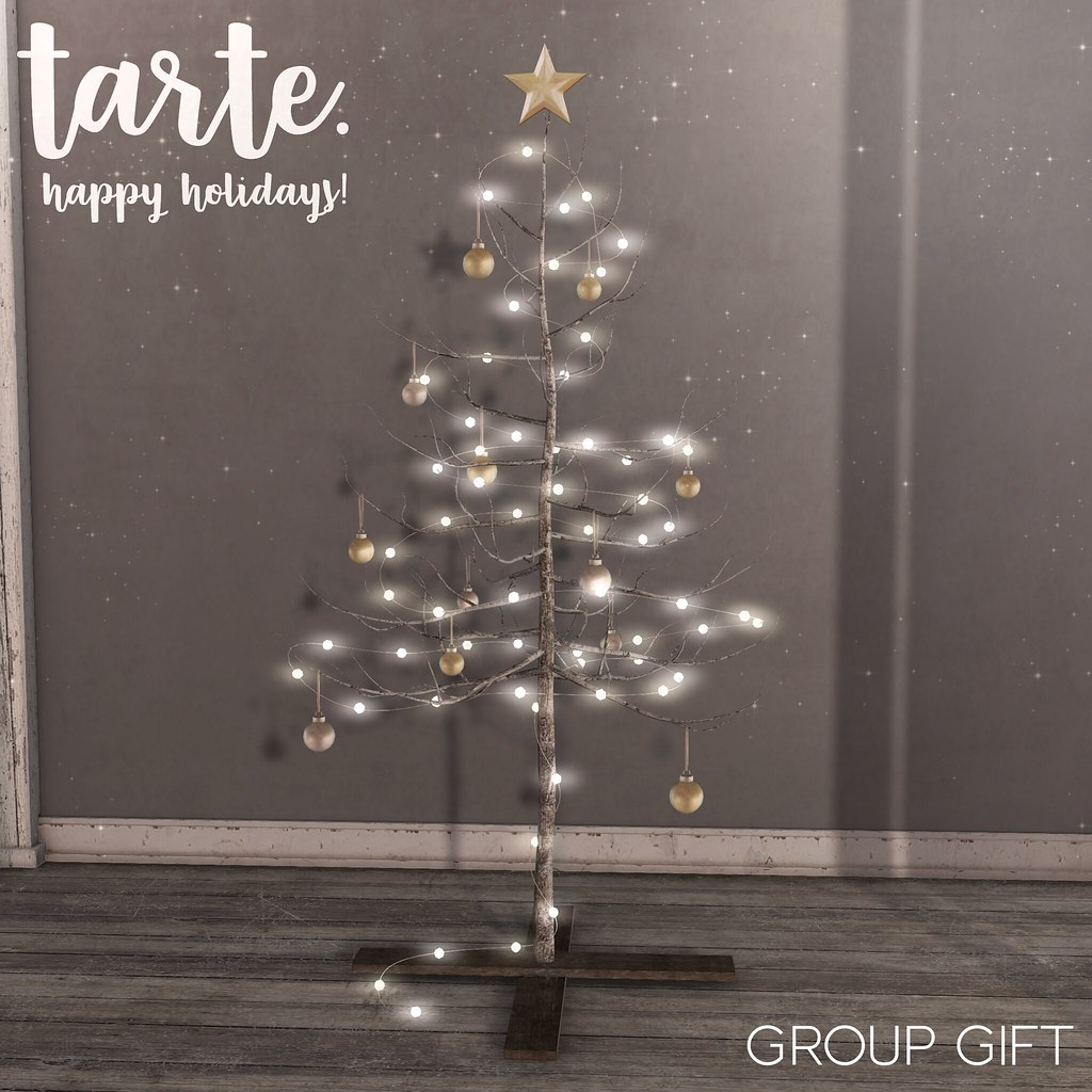 tarte. holiday tree - group gift - TeleportHub.com Live!