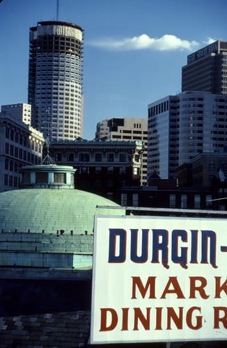 View from Quincy Market, Boston - 1986