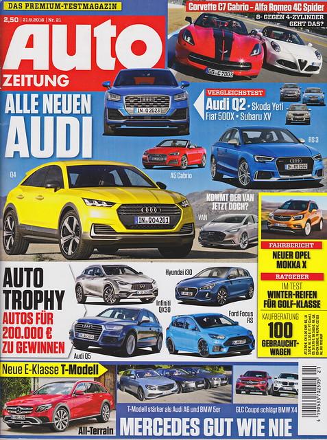 Auto Zeitung 21/2016