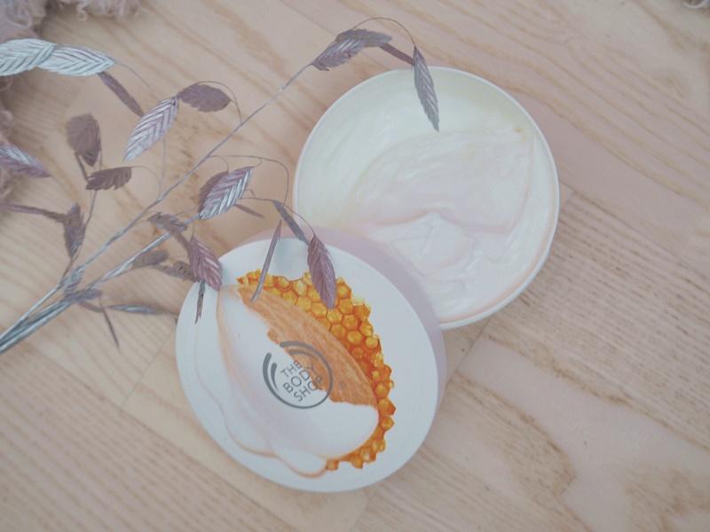 the body shop almond milk & honey vartalovoide