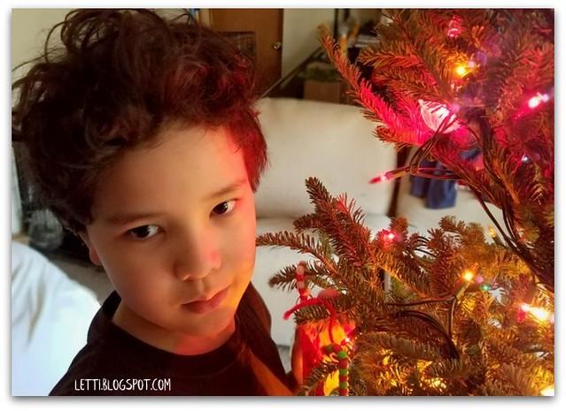 Dec 24 Trimming the Tree