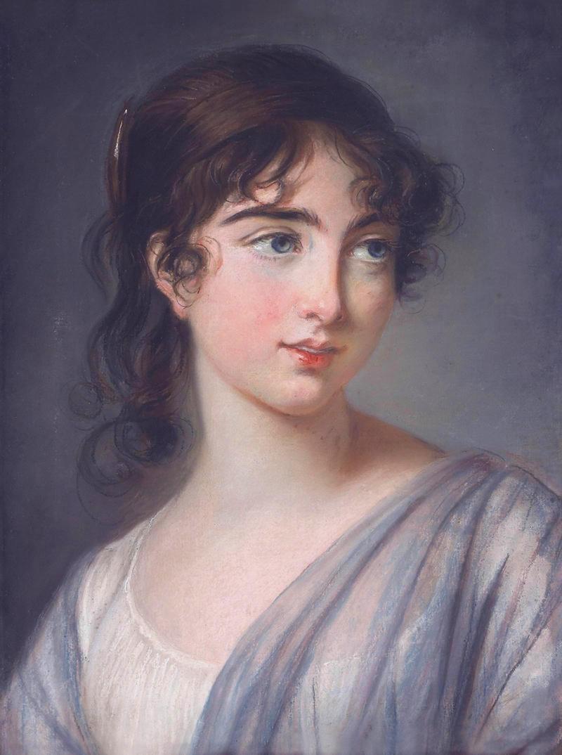 Corisande Armandine Léonie Sophie de Gramont by Louise Élisabeth Vigée Le Brun, c1806
