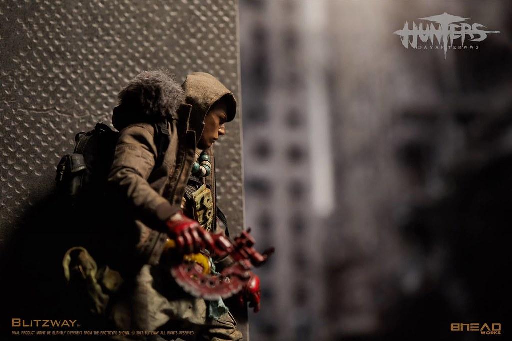 【官圖更新!】夢幻的12吋收藏商品化!BLITZWAY - 《獵人:第三大戰日後》 - 男孩 / HUNTERS :  Day After WWIII – The BOY