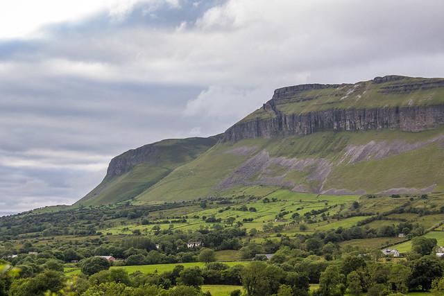 Ireland - Glencar - Benbulbin