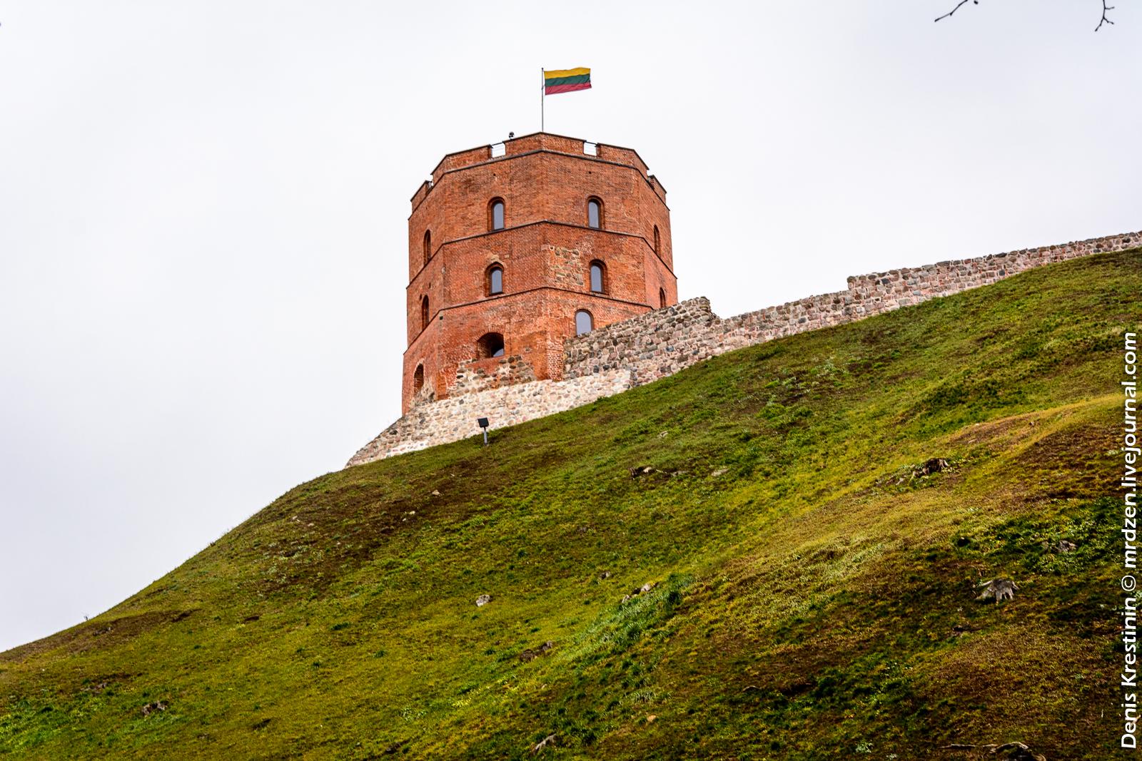 Вильнюс. Башня Гедеминаса