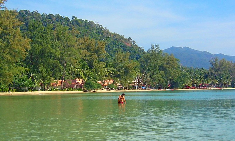 Southern tropical Thai island