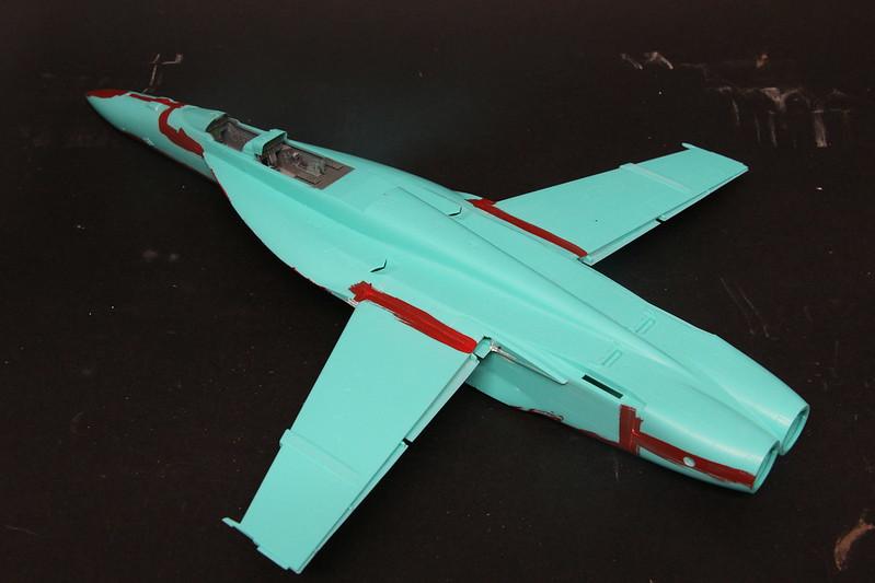 """Montage du F/A-18F """"The Idolmaster"""",  1/48 38367538544_0939cc7baf_c"""