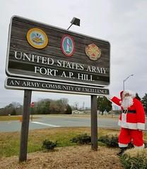 Santa at Hopemont