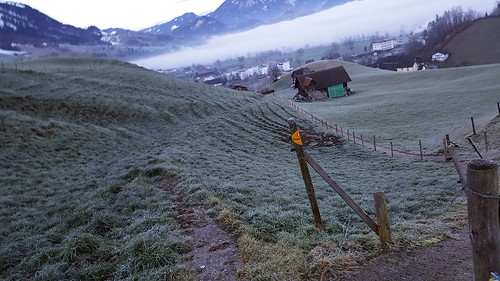 ascent to Buochserhorn