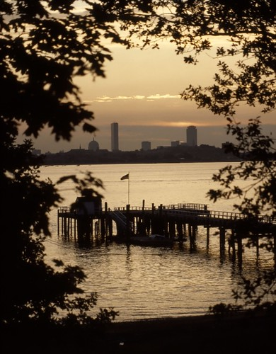 Back Bay, Charles River - 1984