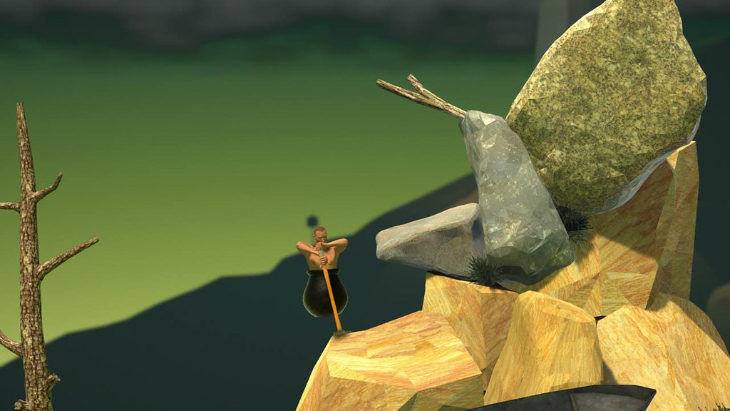 Getting Over It with Bennett Foddy 1 52 – A punishing