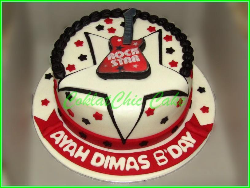 Cake Rock Star AYAH DIMAS 15cm