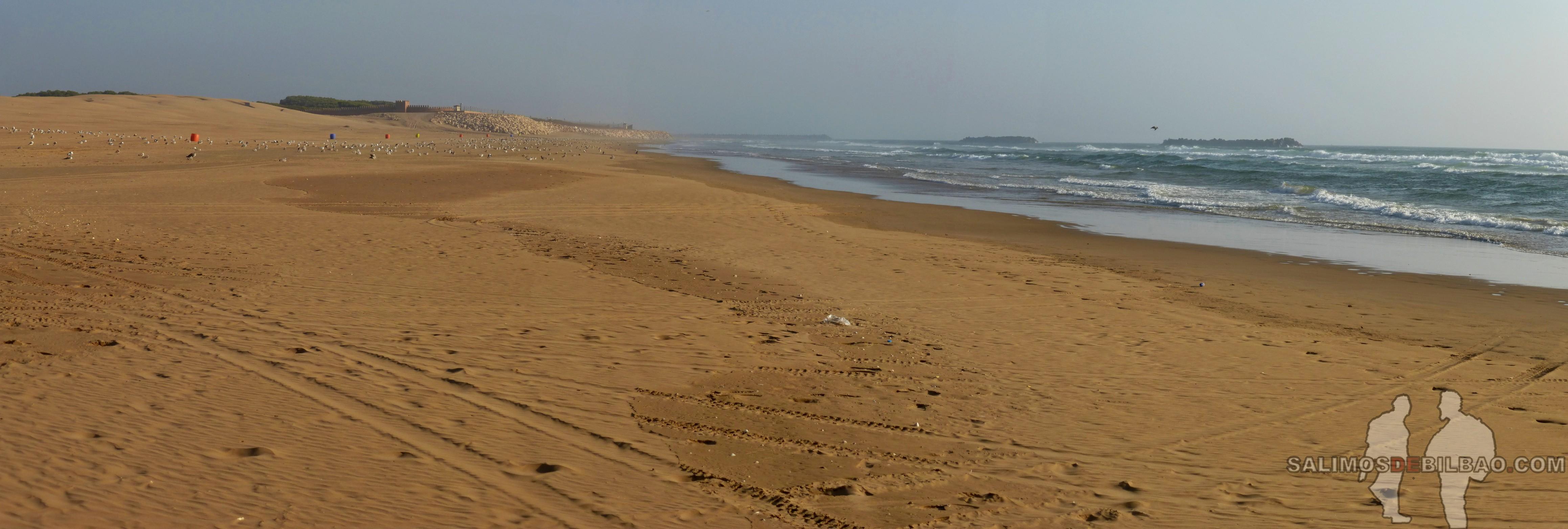 457. Pano, Playa de Agadir