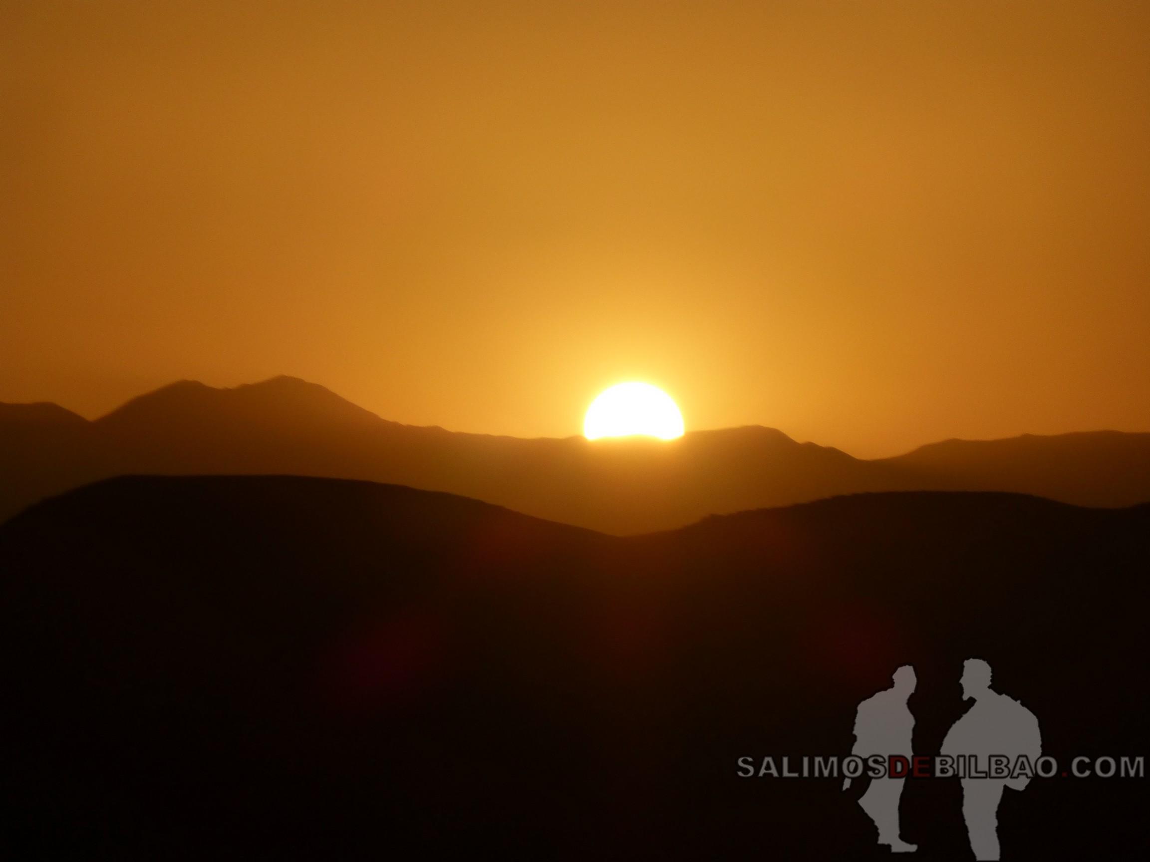 552. Puesta de sol, Vistas desde Kasbah Ait Ben Haddou