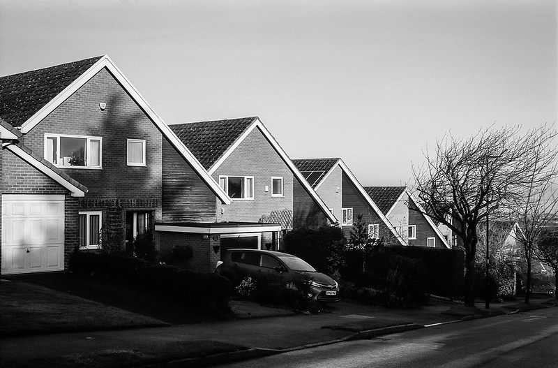 FILM - On suburban streets