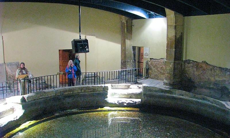 Historic Ancient Roman Bath House