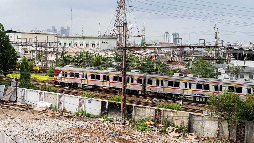 Tokyu 8500(8512/8612);Blue Line;Stasiun jatinegara