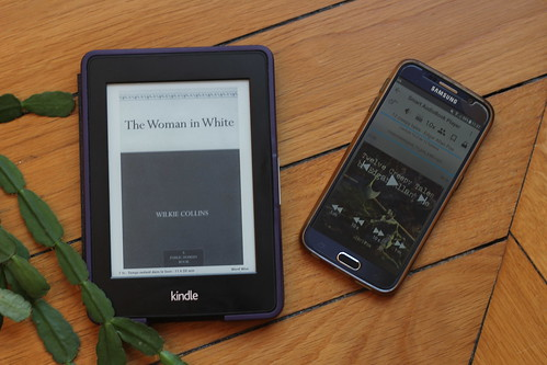 The woman in white by Wilkie Collins // 12 Creepy Tales by Edgar Allan Poe