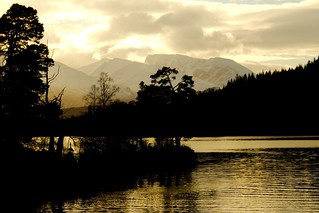 Loch Lochy sunset