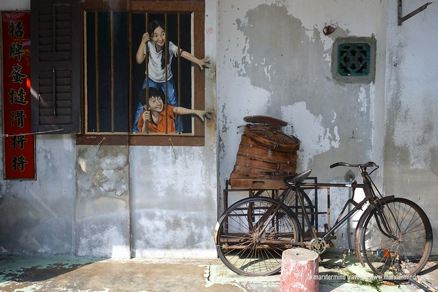 I Want Bao Penang Street Art
