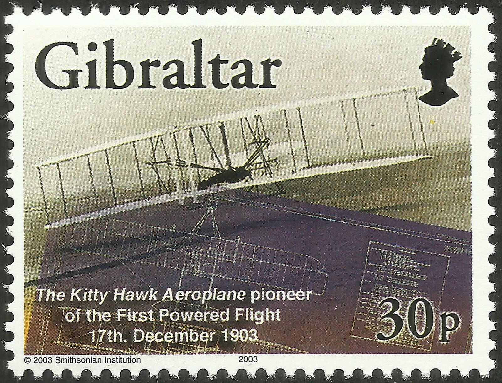 Gibraltar - Scott #932 (2003)