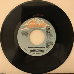 BOBBY CALDWELL:COMING DOWN FROM LOVE(RECORD SIDE-A)