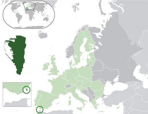Mappa-Gibilterra