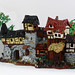 The Front - Fantasy medieval like house front - Lego MOC by ranghaal