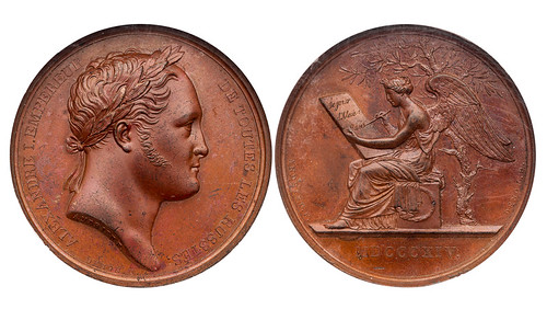 1814 Czar's Visit to Paris Medal