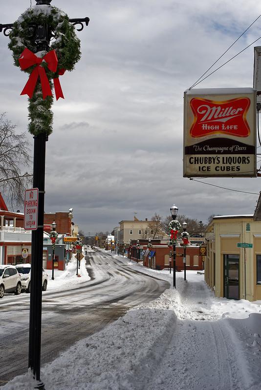 Chubby's Liquors on Main Street