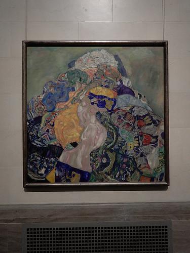 DSCN9933 _ The Baby, Klimt, 1917 - Klimt & Rodin