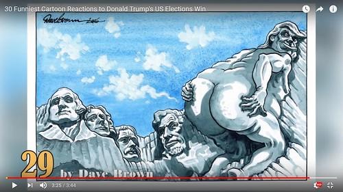 i Trump se hizo en los fundadores de la nacion. Un homenaje a los héroes nacionales y una llamada de alerta por el rumbo actual de la politica de trump