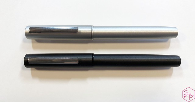Review Lamy Aion Fountain Pen - Black & Olive Silver @AppelboomLaren 3