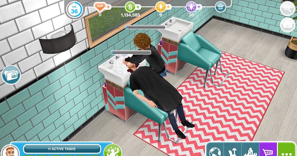 Photo of Desenvolvendo Salões de Beleza – The Sims FreePlay