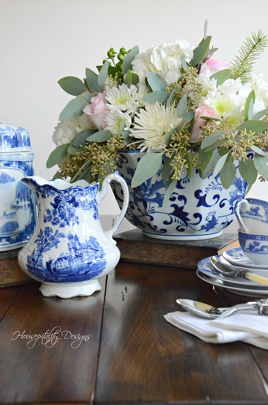 Blue and White Vignette-Housepitality Designs-3
