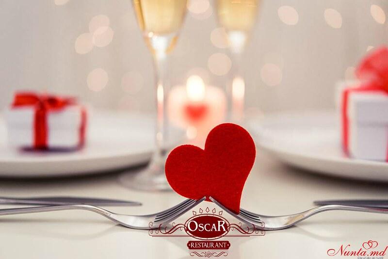 """Restaurantul Oscar >  ZIUA ÎNDRĂGOSTIȚILOR la """"Oscar Banquet Hall"""""""