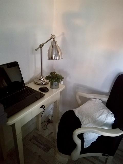 Werkplek woonkamer