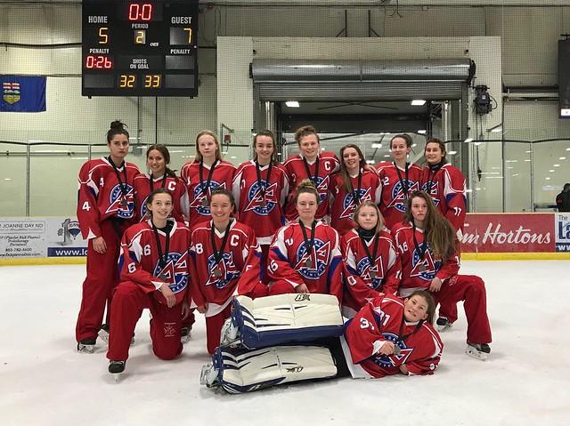 Dec 17, 2017 - Central AB IceBrkr - U16AA Riot wins Silver