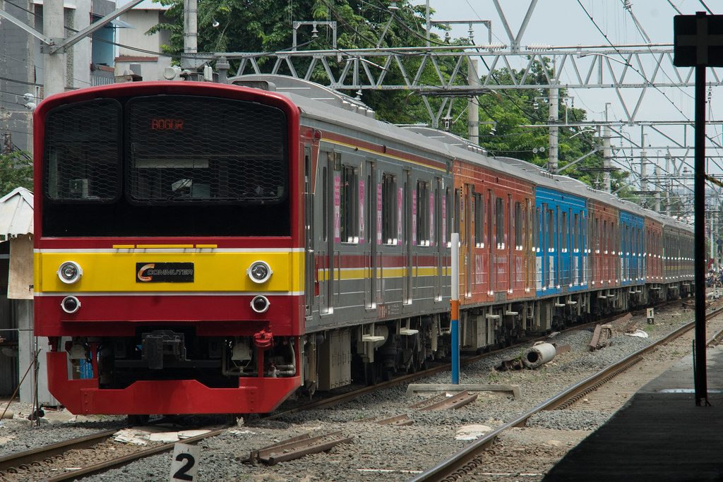 JR 205-0(205-62);Yellow Line (Bogor);Stasiun Duri