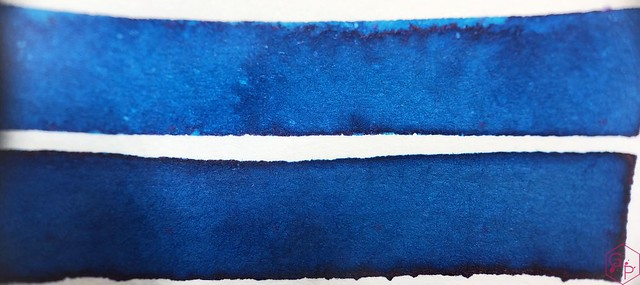 Ink Shot Review @RobertOsterInk Soda Pop Blue @PhidonPens 6