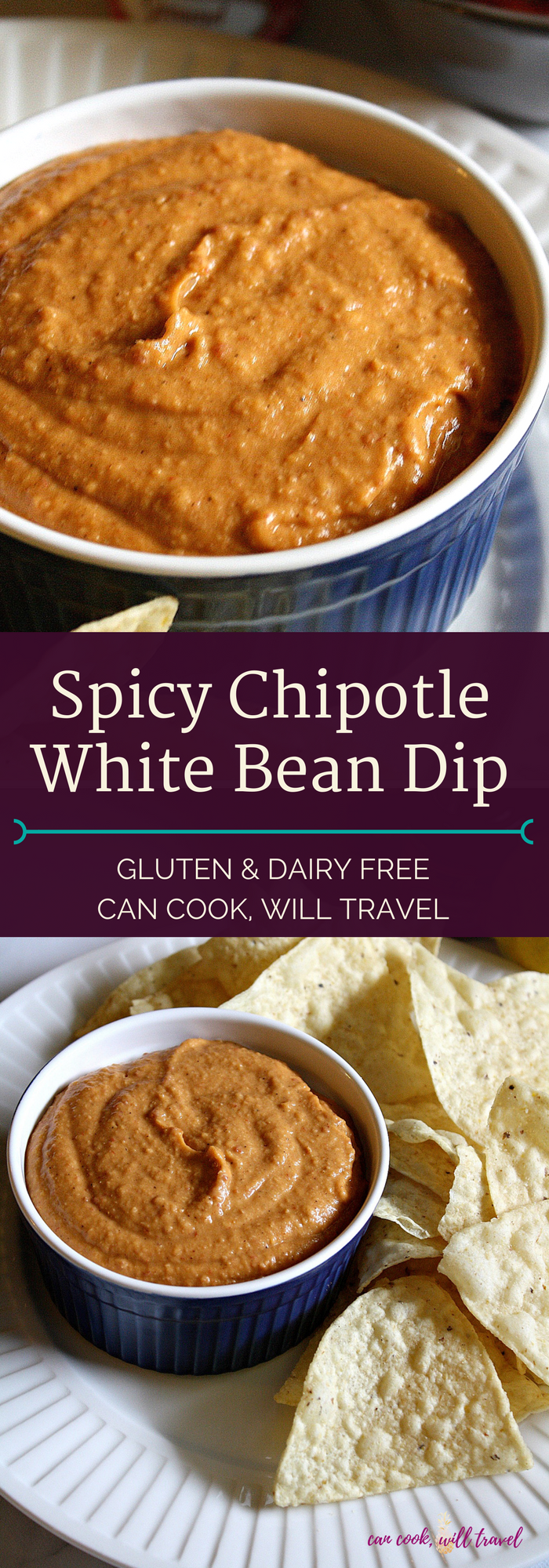 Spicy Chipotle White Bean Dip_Collage1