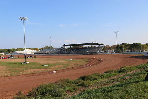 Image of the Year - Final look at Oshkosh Speedzone - Turn 4 and grandstands